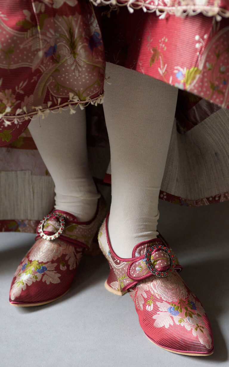 18th century buckle shoe